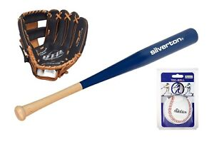 Teeball-Set für Rechtshänder - Schläger - Ball - Fanghandschuh - Baseball