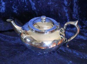 vintage ROBUR TEA CO EPNS A1 silver tea pot and infuser 1927 PERFECT TEA POT