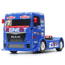 Tamiya RC 58642 equipo Reinert Racing Man TGS TT-01E Kit de montaje de camión de 1:14