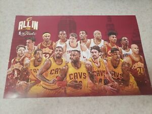 CLEVELAND CAVALIERS Poster from Watch Party 2016 NBA National finals Game 7