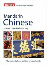 Berlitz Mandarin Chinese Phrase Book and Dictionary