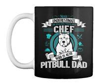 Pitbull Chef Dad T S Gift Coffee Mug