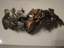 SPECTACULAR WILDLIFE DESIGN HAIR PIN - MADE IN FRANCE - OFC-3