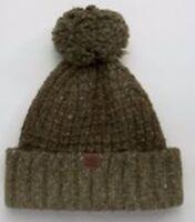 0c7d303923c Timberland Kids Boy s Black Colorblocked Knit Cuff PomPom Cap Beanie ...