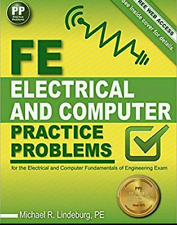 FE Electrical and Computer Practice Problems by Michael  R. Lindeburg PE Book