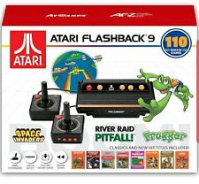 ATARI FLASHBACK 9 VIDEO GAME CONSOLE WITH 110 BUILT-IN GAMES FOR AGE 15 & OLDER