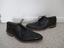 Giorgio Brutini Roone Black Leather Wingtip Oxford Shoes Size 10 Mens
