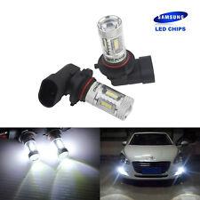 2X  SMD 15 LED 9005/H10/HB3 Phare de voiture Ampoule lumière de brume 12V