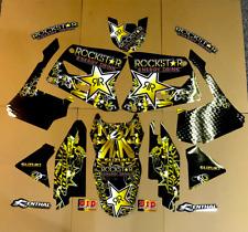 TEAM ROCKSTAR GRAPHICS SUZUKI RM125 RM250 2001 2002 2003 2004 2005 2006 - 2014
