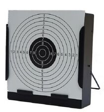 Airgun Target & Square Pellet Trap W. 20 Pcs Target Papers ( Black)