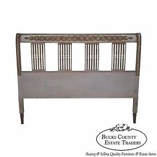 Vintage French Country Style Custom Painted Queen Headboard