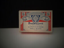 Budweiser Beer Vintage Playing Cards Used With Box