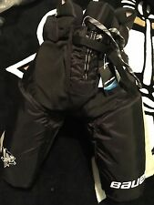 Pittsburgh PENGUINS Bauer Vapor APX L+2 Black Gold NEW Hockey Pants Pro Stock