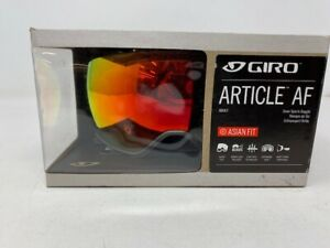 GIRO Article AF Asian Fit Adult Snow Goggles with Bonus Lens NIB