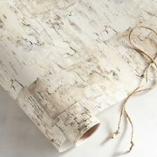 BELLA LUX Birch Embossed Gift Wrap PAPER Tree RUSTIC Wedding WRAPPING DIY GIFT
