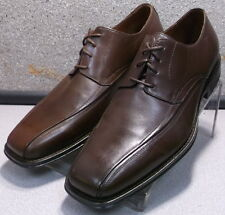 206460 DF30 Men's Shoes Size 9 M Brown Leather Oxfords  Johnston & Murphy