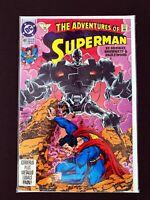 ADVENTURES OF SUPERMAN #491 DC COMICS 1992 NM+