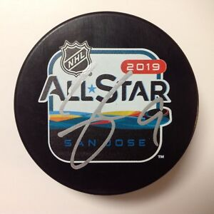 Clayton Keller Signed Autographed 2019 NHL All Star All-Star Hockey Puck a