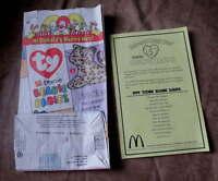 Vintage McDONALDS Restaurant Happy Meal PAPER BAG Advertising 1999 Premium Sack