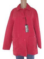 carol giubbotto coat donna rosso taglia it 44 l large