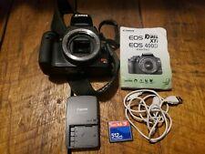Canon EOS Rebel XTi 10.1MP Digital SLR Camera Body 400D Black