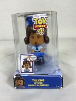 Disney Pixar Toy Story 4 Talking Officer Giggle McDimples - New! Free Shipping!