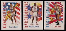 1991-92 SKYBOX MICHAEL JORDAN BIRD MAGIC OLYMPICS DREAM TEAM USA 10 CARD LOT