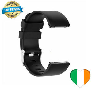 Silicone Band Strap Buckle For Fitbit Versa, Versa 2, Versa Lite Replacement