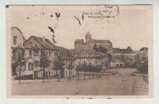 AK Diez an der Lahn, Marktplatz und Schloss, 1918