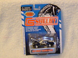 SHELBY COLLECTIBLES 2009 NORTHWEST FEST DINNER CAR 1967 SHELBY GT500 BLACK