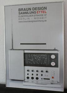 Braun   Radio  Weltempfänger T 1000 Poster