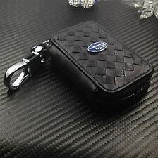 Remote Keyless Entry Combo Diamond Key Holder Rotatable For Subaru With Logo