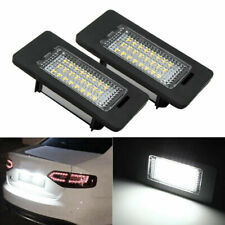 2X Xenon White LED Licence Number Plate Light Fit Audi A1 A3 A4 A5 A6 A7 Q5 TT