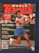 World Tennis Magazine - May 1986 - Chris Evert Lloyd Cover
