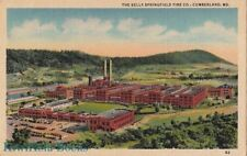 Postcard Kelly Springfield Tire Co Cumberland MD