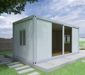 FLAT PACK HOUSE - Best Quality Prefab 20 ft Module for Home or Office