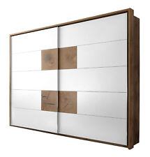 CESENA-Armadio in imitazione quercia selvaggia/bianco, dimensioni 270x225x60cm