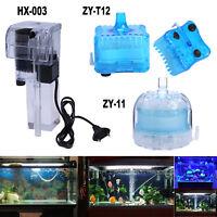 External Hang On Waterfall Under Water Filter Wall-Mountable Aquarium 3W 240V