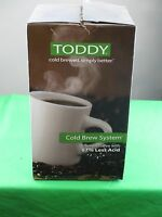 toddy cold brew system instructions