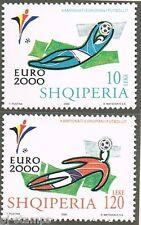 2000 Albanië 2761-2762 EK voetbal - EC soccer
