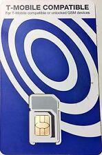 Simple Mobile+ s 3-in-1 SIM Nano Micro Triple Sim Card 4g LTE