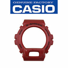 CASIO G-SHOCK Watch Band Bezel Shell DW-6900MF-4 Metallic RED Rubber Cover