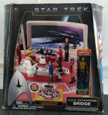 Star Trek USS Enterprise Bridge & Captain Kirk Action Figure Starfleet Shatner