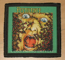 "PESTILENCE ""CONSUMING IMPULSE"" silk screen PATCH"