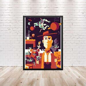 Woody Toy Story Poster Wall Art Maxi 2019 Prints New Disney Retro -1809