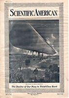 1914 Scientific American March 14 - French dirigible;Sakurajima Volcano eruption