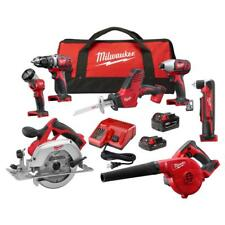 Milwaukee 2695-27CX M18 Lithium Ion Cordless Combo 7 Piece Tool Kit - NEW !!!