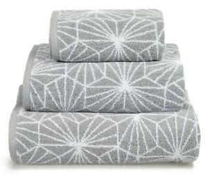 100% Cotton Towels Geometric Design Luxury Hand Bath Towels Sheet Super Soft