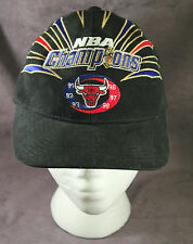 Chicago Bulls 6x Champs NBA Finals Baseball Cap Hat 1998