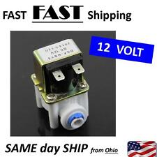 1Pc 12V Electric Solenoid Valve For Water Purifier Refrigerator Normally Closed